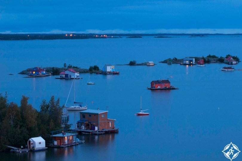 البحيرات في كندا - بحيرة جريت سليف
