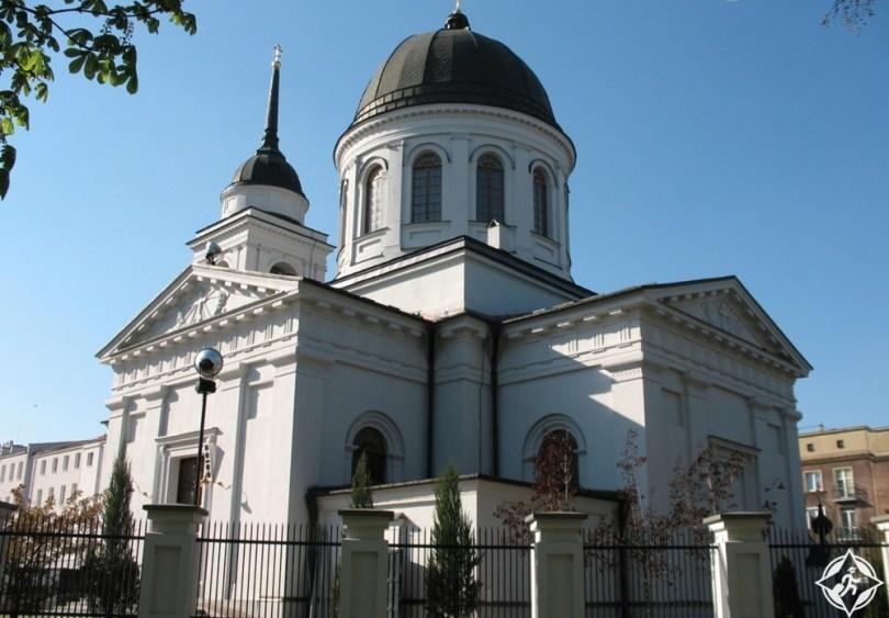 بياليستوك - كنيسة القديس نيكولاس الأرثوذكسية