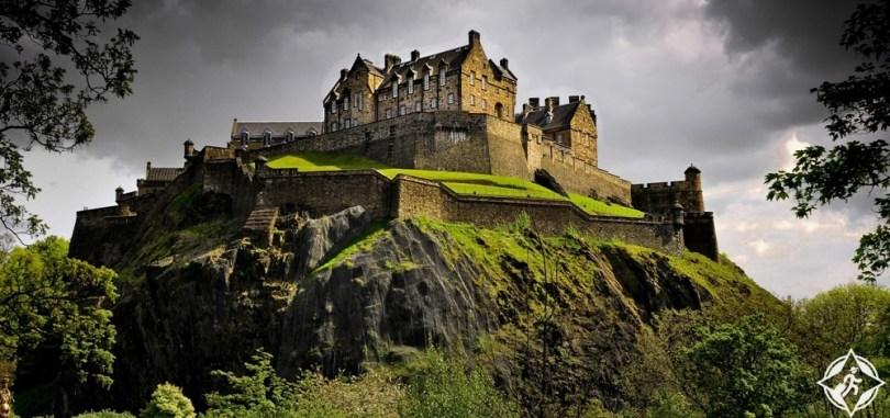 قلاع القرون الوسطى - قلعة ادنبره