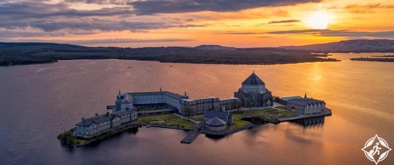 البحيرات في أيرلندا - بحيرة درغ