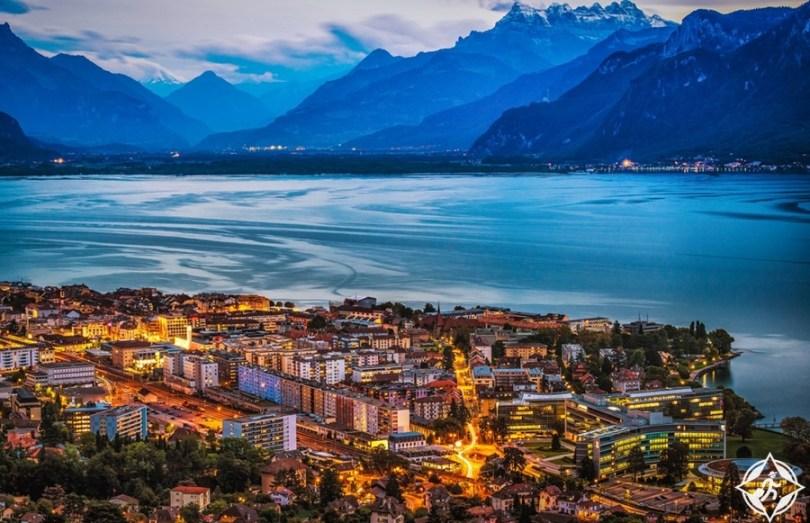 البحيرات في سويسرا - بحيرة جنيف