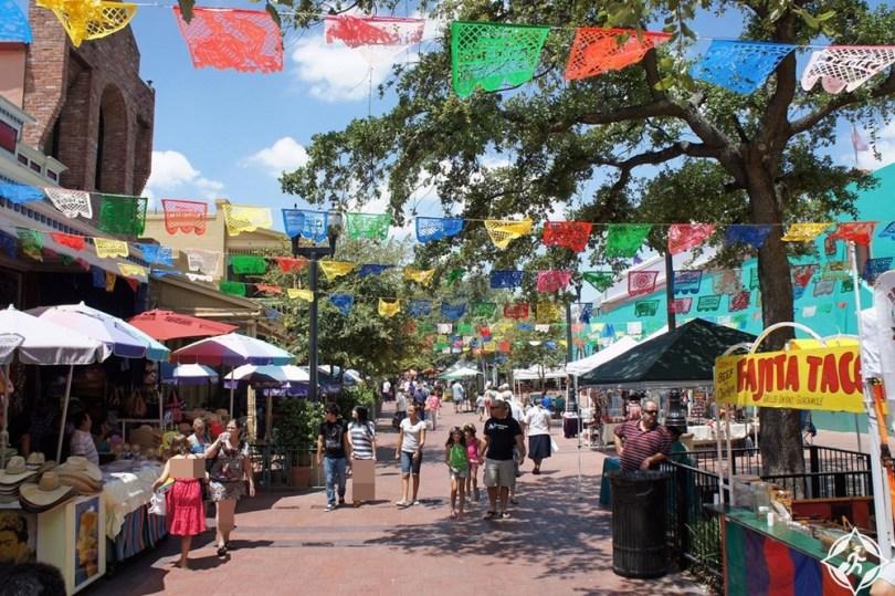 سان أنطونيو - ساحة السوق التاريخية