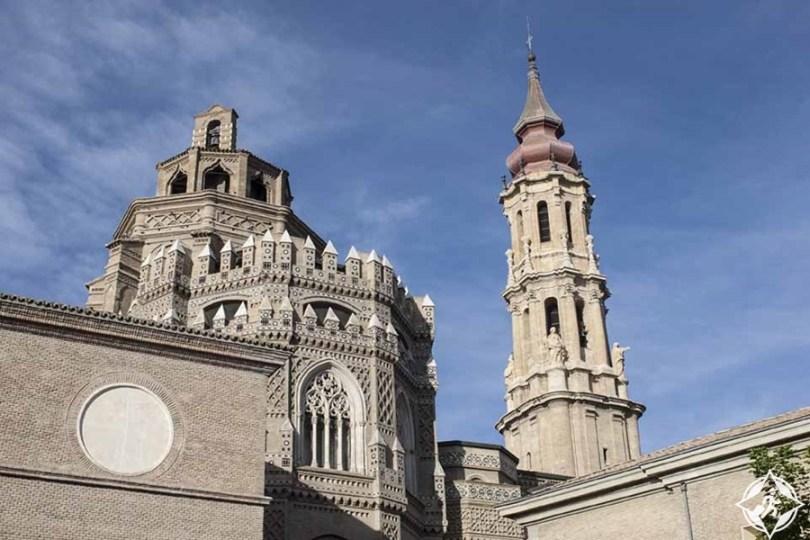 سرقسطة - كاتدرائية سانت سلفادور