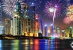 12 وجهة بدبي تشهد أنشطة احتفالية في ليلة رأس السنة