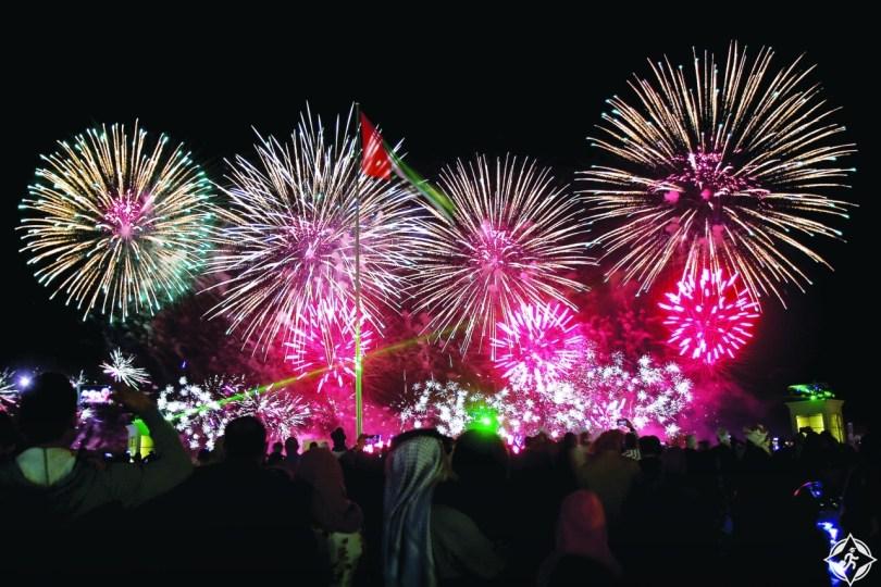 أبوظبي تحتفل بالعام الجديد 2019