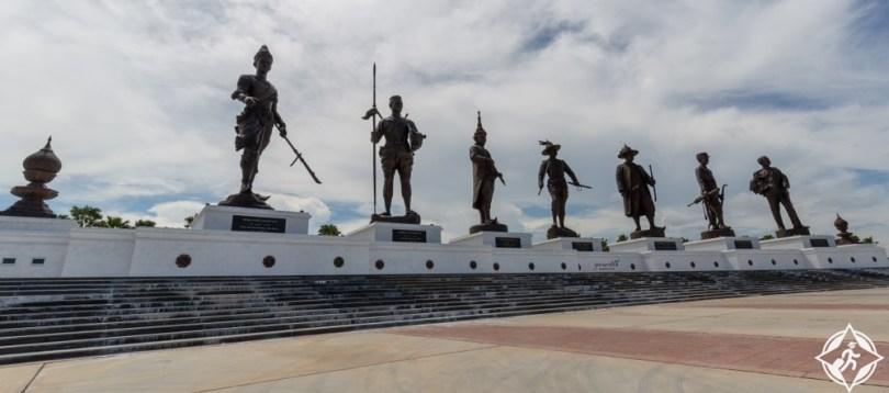 راتشابوري - نصب حديقة شاكري التذكاري