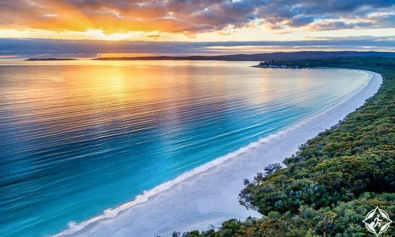 شواطئ الساحل الجنوبي