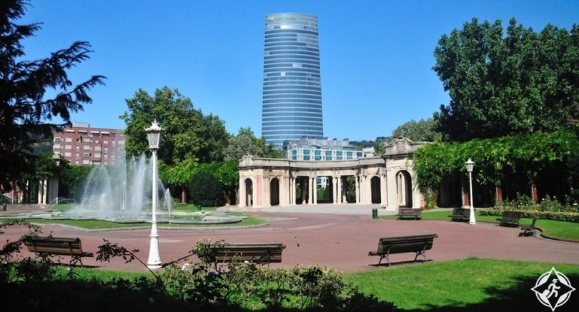 بلباو - متنزه دونا كاسيلدا دي إيتوريزار