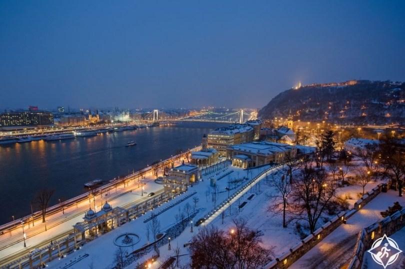 بودابست في الشتاء