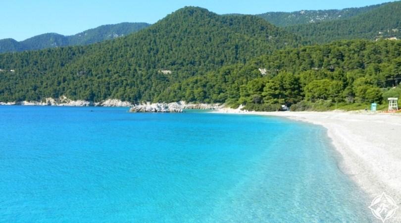 جزيرة سكوبيلوس - شاطئ كاستاني
