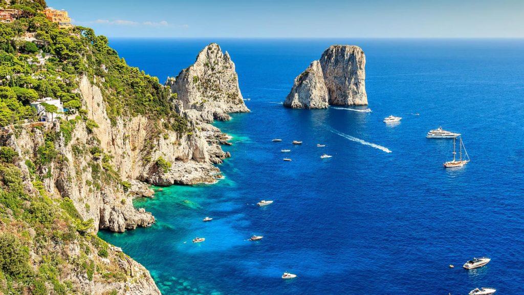 موسوعة المسافر كامبانيا واحدة من أجمل المناطق الإيطالية