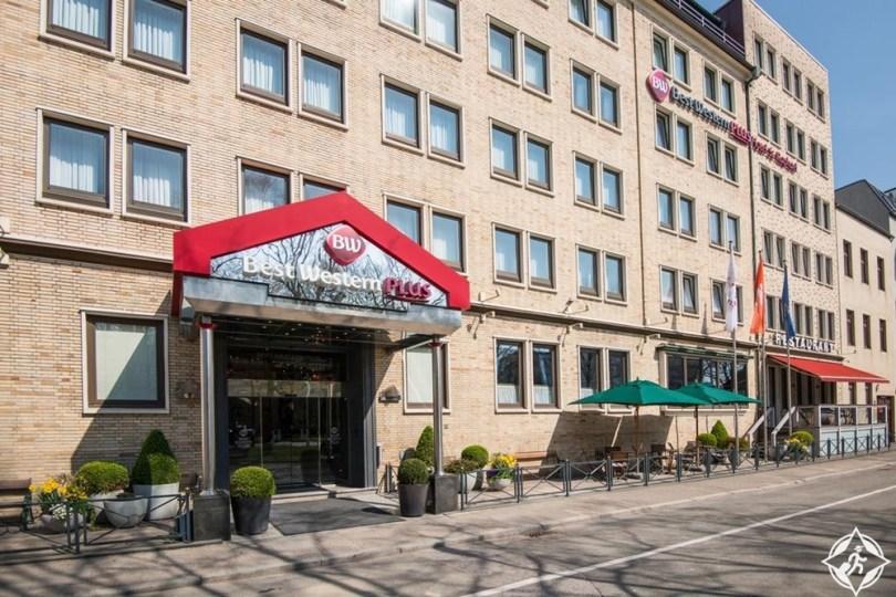 الفنادق في هامبورغ - فندق بست وسترن بلاس سانت رافائيل