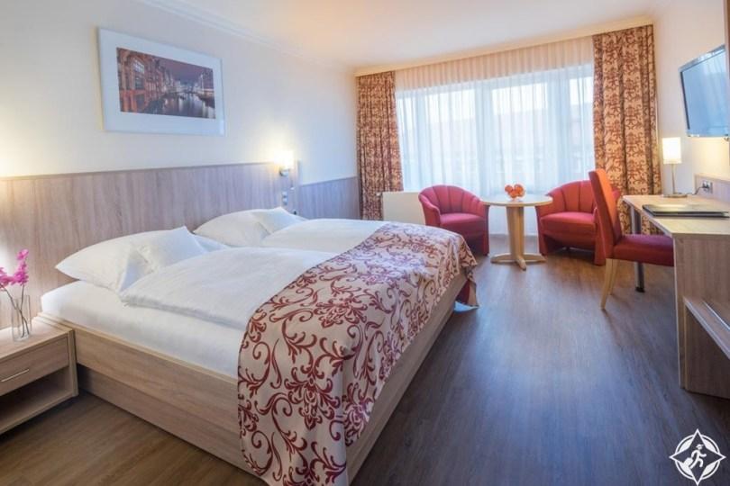 الفنادق في هامبورغ - فندق شقق هامبورغ ميتي