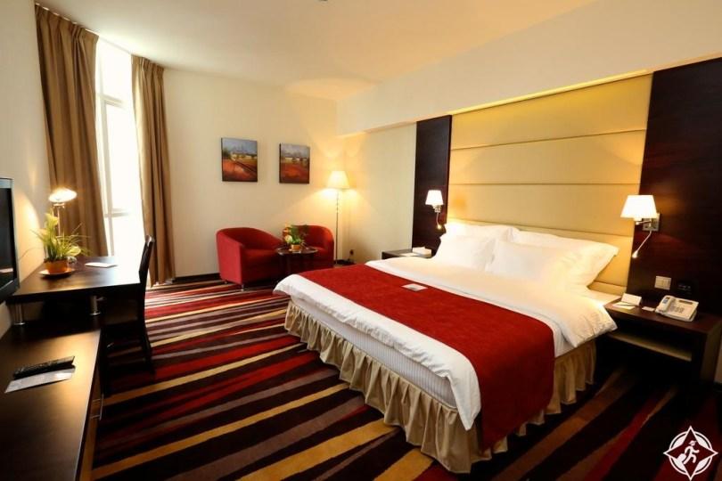 الفنادق الاقتصادية في أبوظبي - بن ماجد فندق نهال