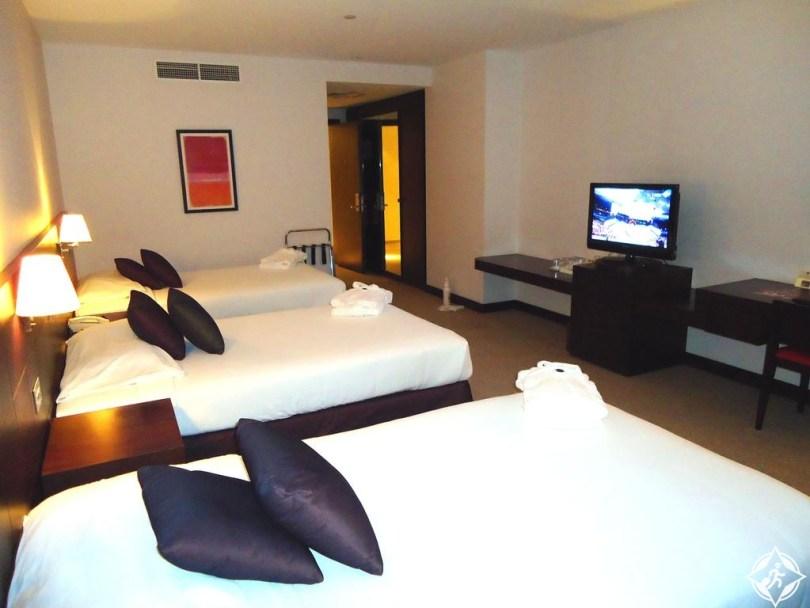 الفنادق الاقتصادية في أبوظبي - فندق نادي الجزيرة