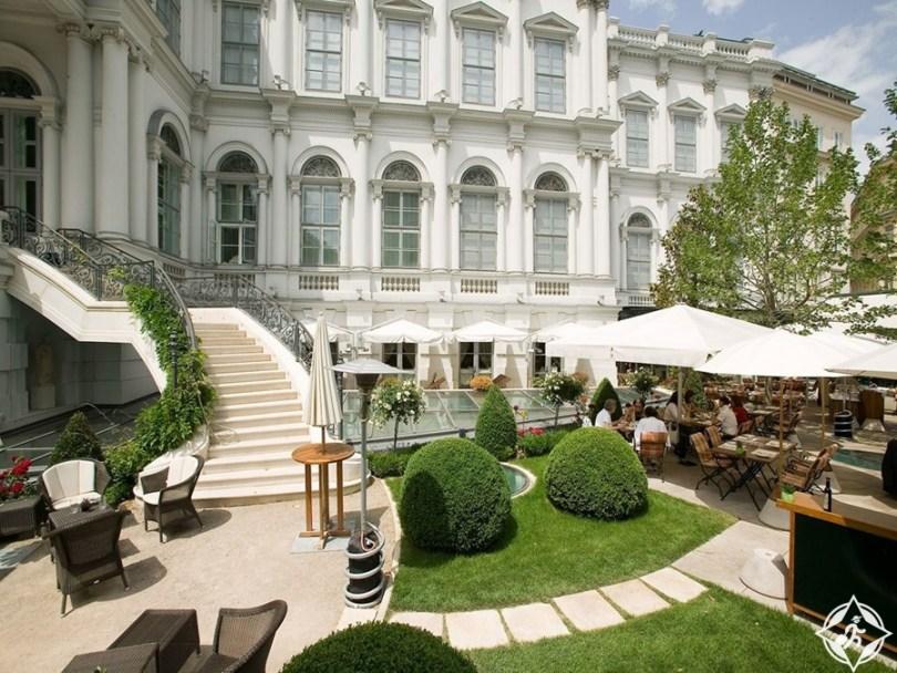 الفنادق الفاخرة في فيينا - فندق قصر كوبورغ ريزيدينز