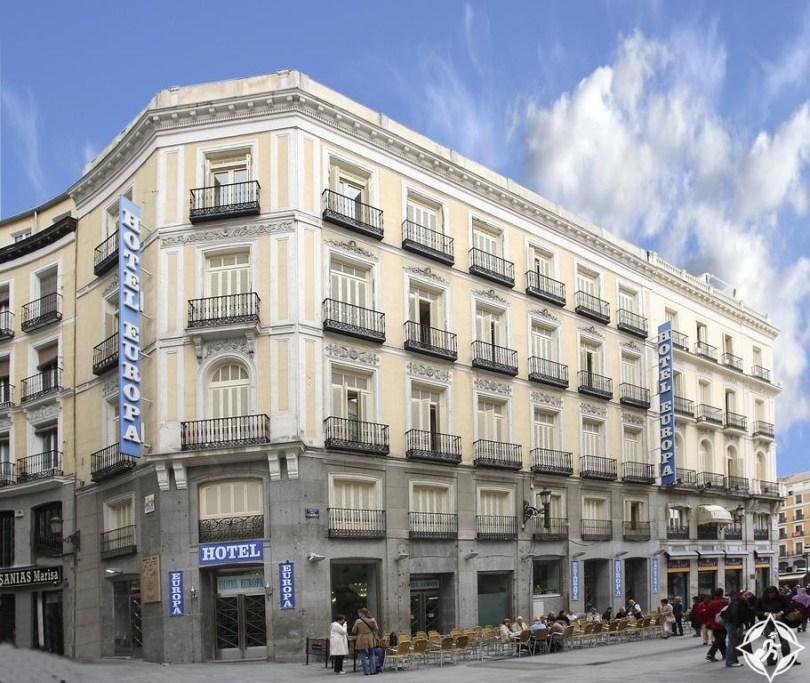 الفنادق في مدريد - فندق أوروبا