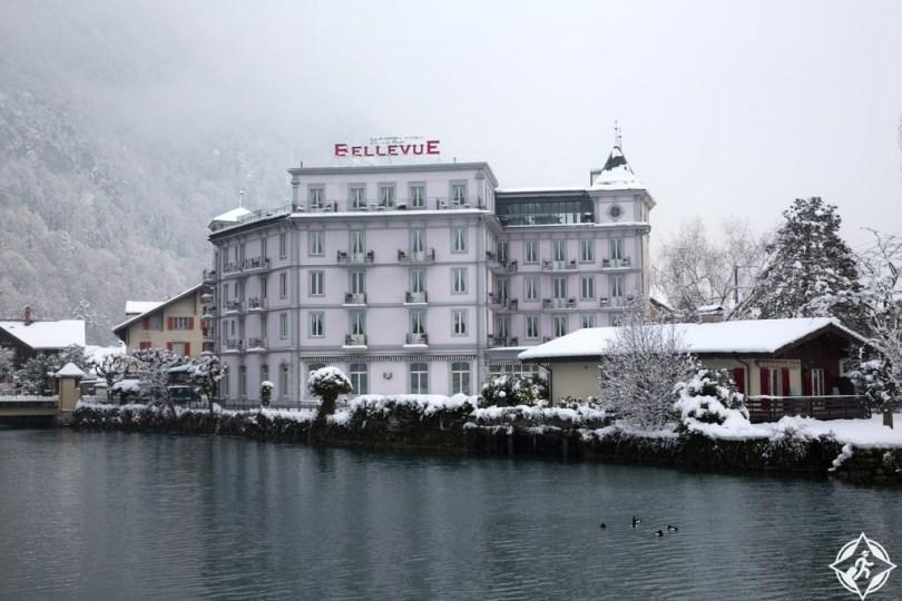 الفنادق في إنترلاكن - فندق بيلفو