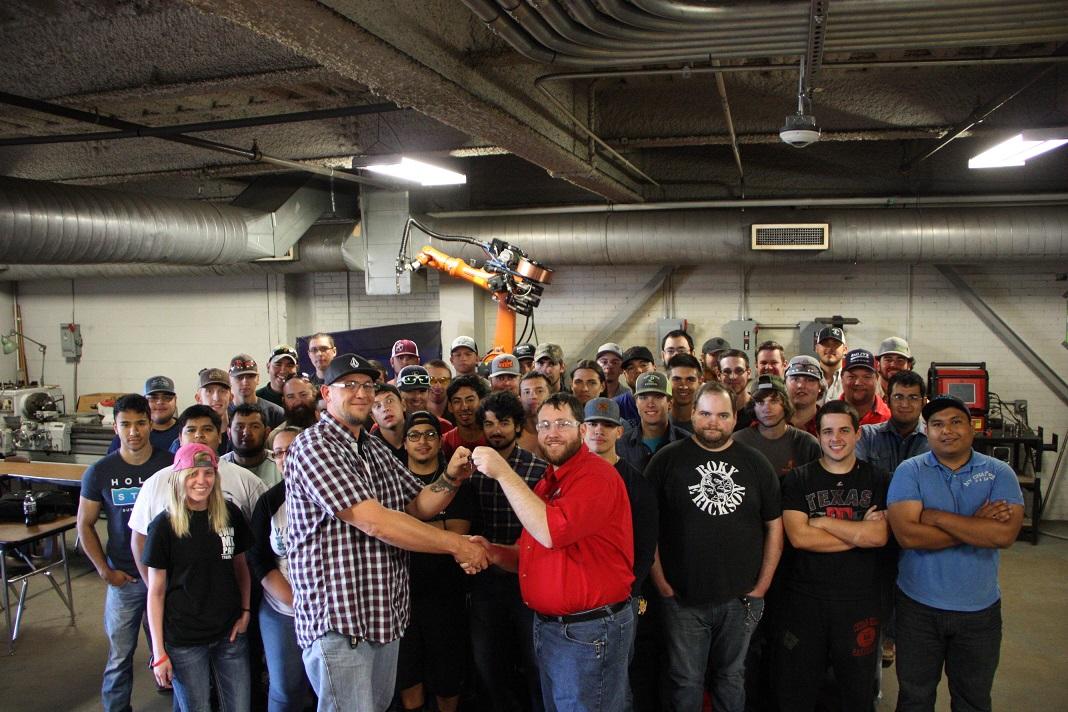 Texas State Technical College  News  TSTC Welding