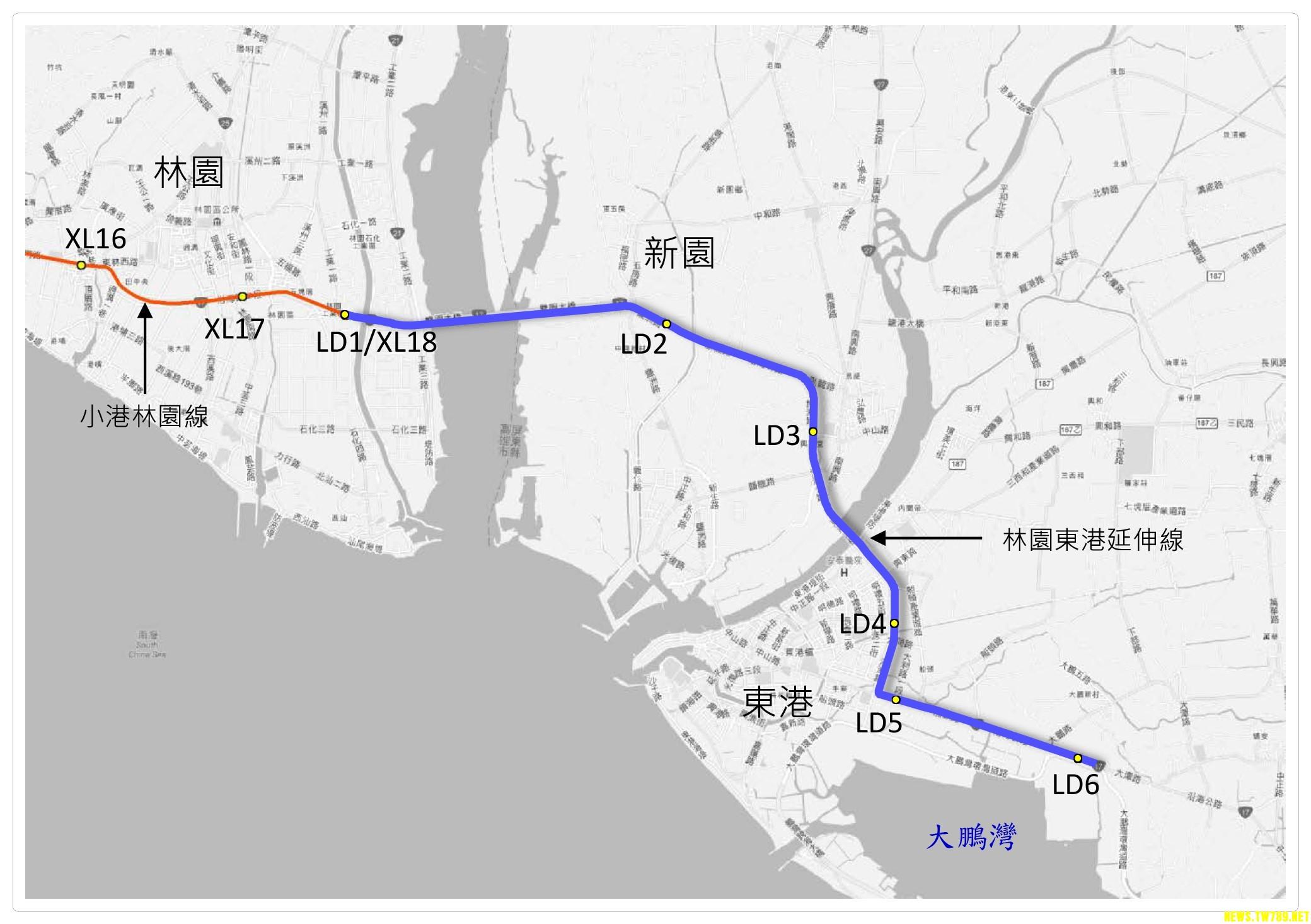 高捷延伸屏東 擬採輕軌高架108年完成規劃-小鎮資訊掌握屏東資訊