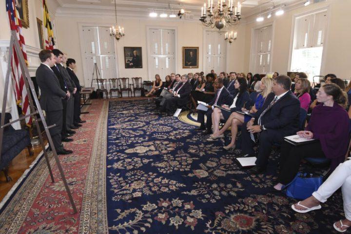 Governor's Summer Interns 2016