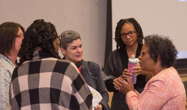 Baltimore Stories concluding event, December 3, 2016. Photo by Abnet Shiferaw '11 for UMBC.
