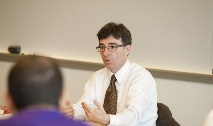 Andrew Nolan, program director of history at UMBC@USG