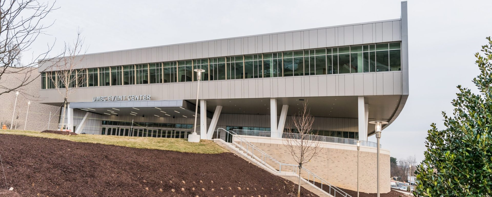 UMBC's new Event Center opening on 2/3/18