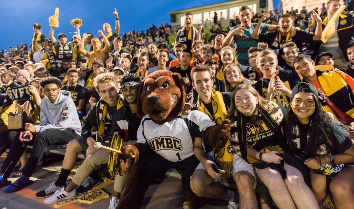 UMBC men's soccer home opener
