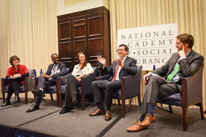 Avila at the National Academy of Social Insurance.