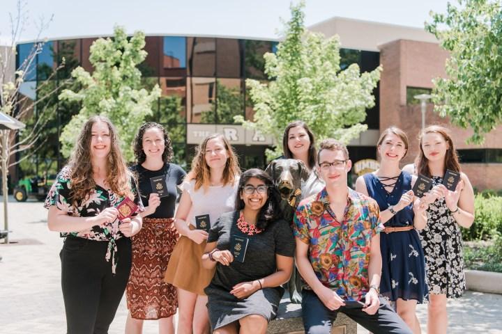 The 2018-2019 UMBC Fulbright U.S. Student recipients.