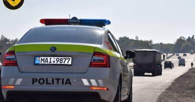 Lista drumurilor patrulate la 19 iunie de echipajele INP dotate cu RADAR