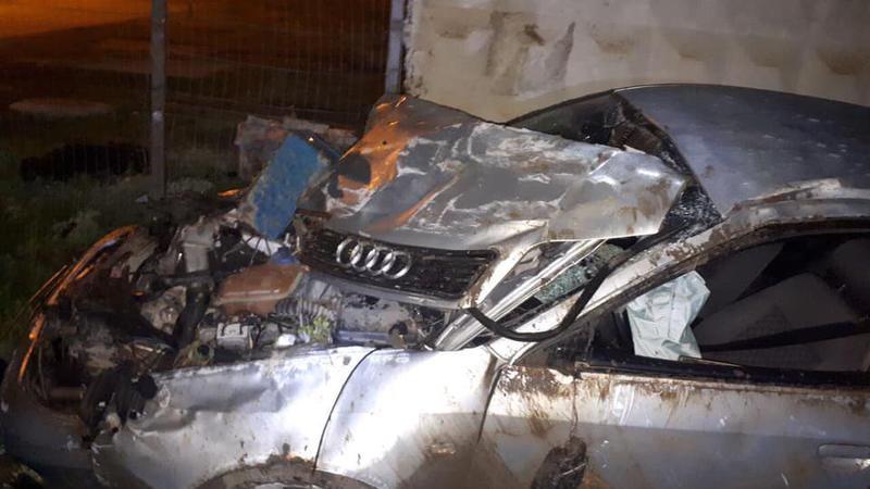 Grav accident rutier la Nisporeni. A fost necesară intervenția unui echipaj SMURD.