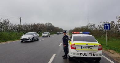 Lista drumurilor patrulate la 24 mai 2019 de echipajele INP dotate cu RADAR