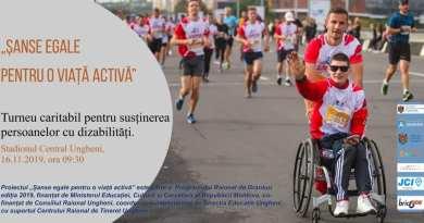 JCI Ungheni organizează un Turneu caritabil de minifotbal pentru persoanele cu dizabilități