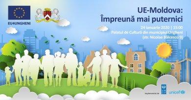 """Doc // Programul vizitei Ambasadorul UE la Ungheni și lansarea Programul """"EU4Ungheni: Regiuni-cheie"""""""