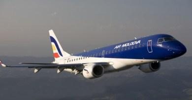 Orarul curselor charter operate de Air Moldova în perioada 13 -18 aprilie