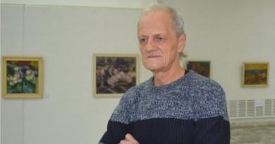 Artistul plastic Ilie Cojocaru, originar din Ungheni, și-a sărbătorit cea de-a 70-a aniversare