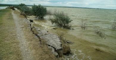 Galerie Foto și Video // Nivelul apei din râul Prut între localitățile Pașcani și Manta, realizată de jurnalistul și istoricul Denis Rusu