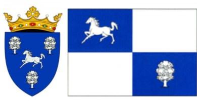 Stema şi drapelul raionului Nisporeni
