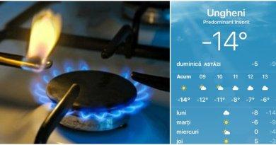 Avarie la Ungheni Gaz. Consumatorii casnici au rămas fără GAZ