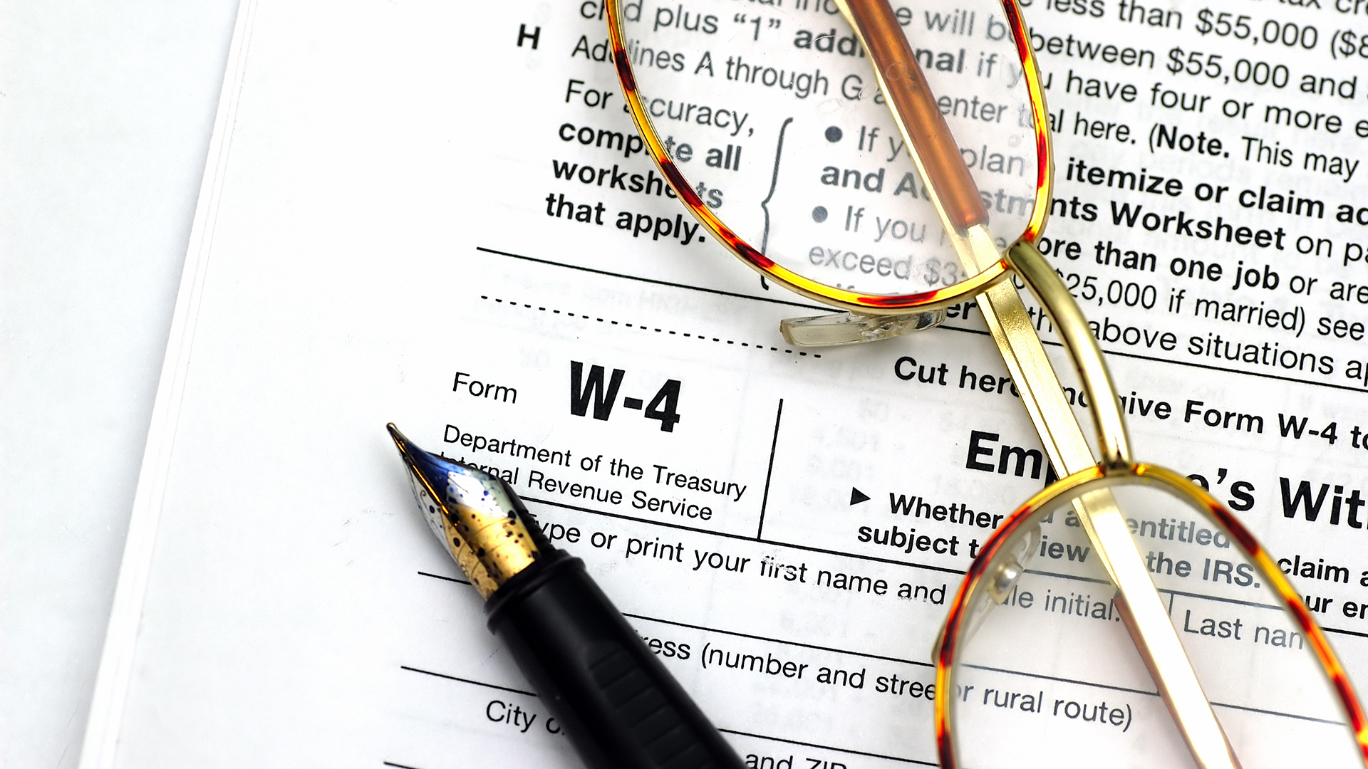 Irs Issues New Federal Payroll Tax Withholding Tables