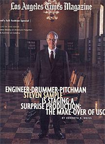 LA Times Magazine features President Steven B Sample on