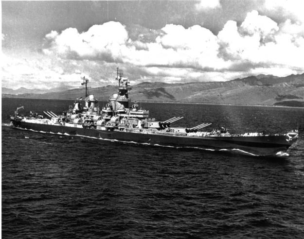 USS Iowa in 1945U.S. Naval Institute Archive