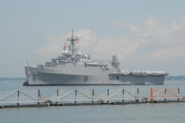 USS Ponce, U.S. Navy Photo