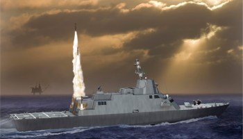 Navy's Next Large Surface Combatant Will Draw From DDG-51