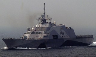 USS Freedom (LCS 1) is underway off the coast of Malaysia on June, 20 2013. US Navy Photo