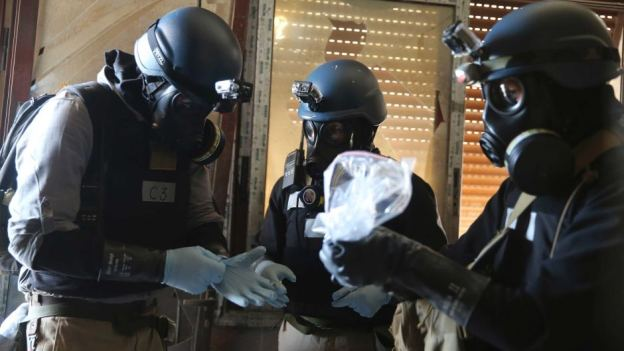 UN chemical weapon inspectors