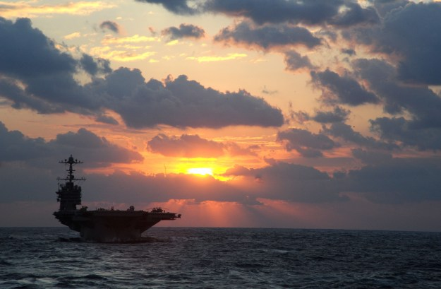 USS George Washington (CVN-73) on Dec. 2, 2013. US Navy Photo