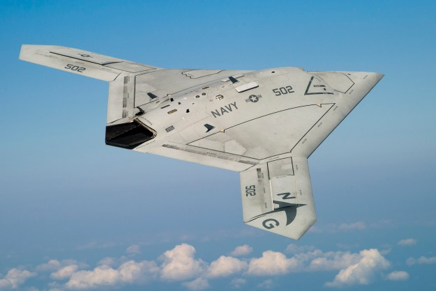 X-47B UCAS. Northrop Grumman Photo